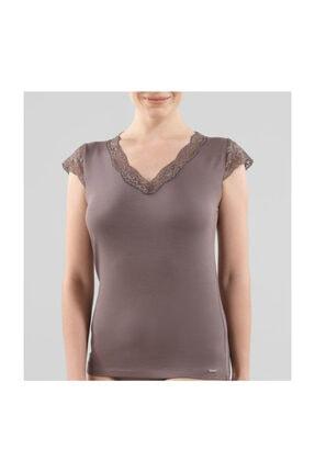 Blackspade Kadın T-shirt Kahverengi