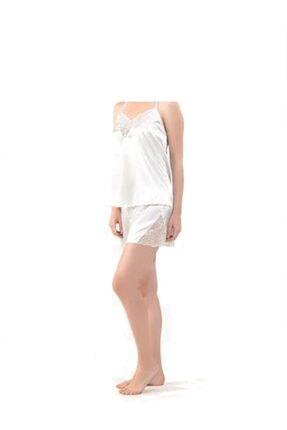 Blackspade Kadın Saten Şort Pijama Takımı 6581