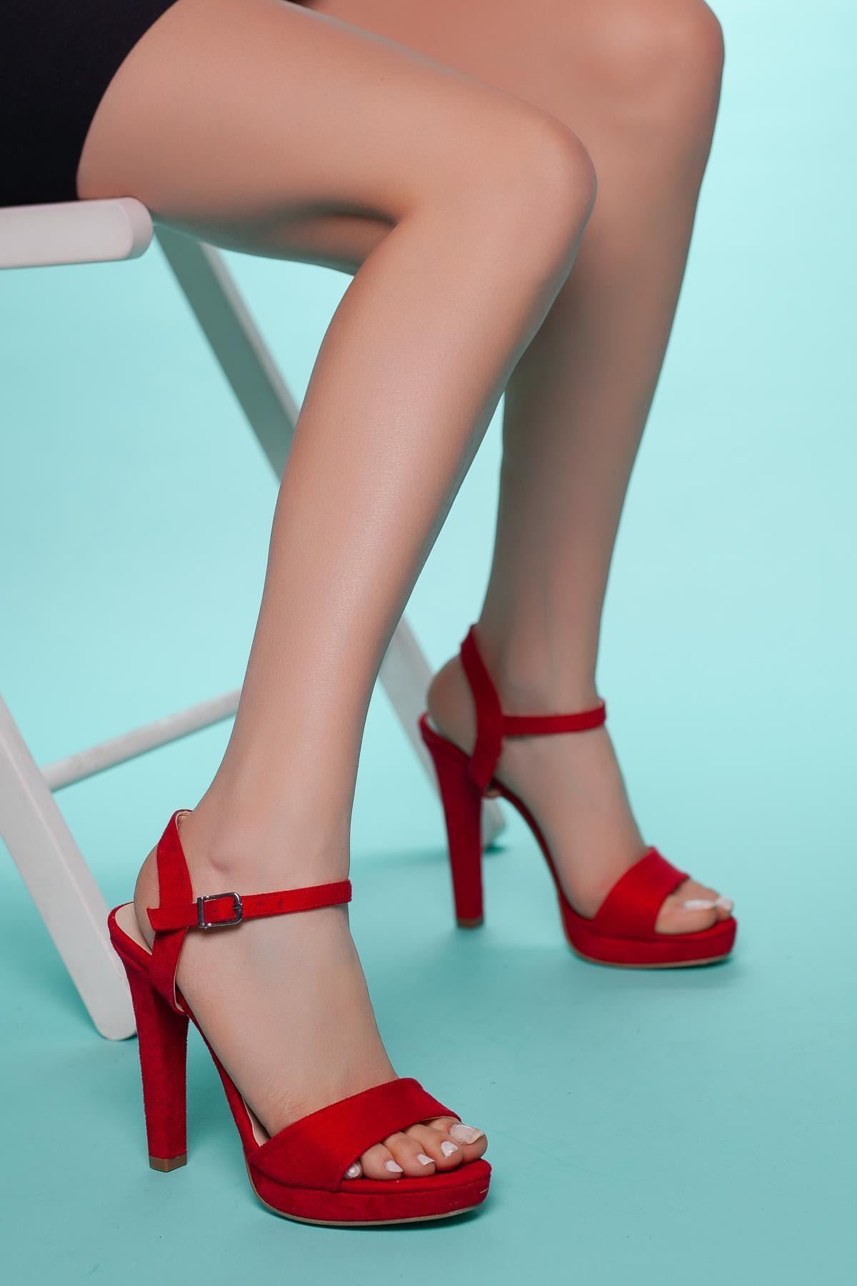 Muggo Sbsw311 Kadın Topuklu Ayakkabı