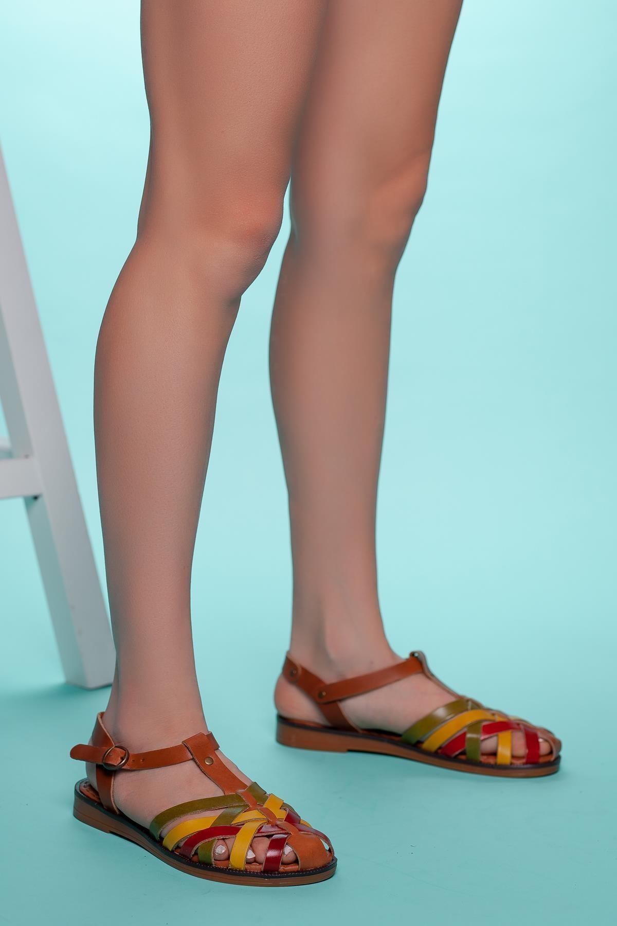 Muggo Multi Kadın Sandalet DPRMGINFW313