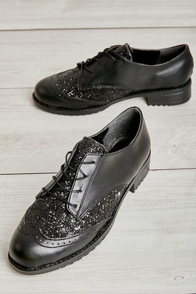 Bambi Siyah Cam Kırığı Kadın Casual Ayakkabı L07021000
