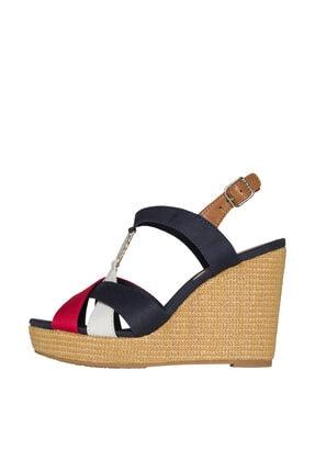 Tommy Hilfiger Kadın Dolgu Topuklu Ayakkabı FW0FW00591
