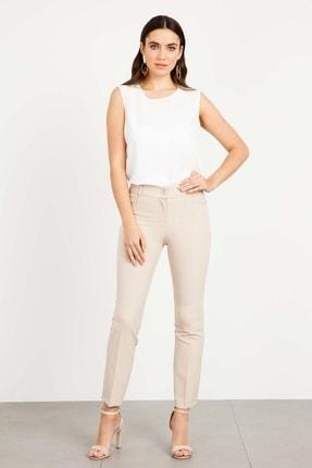 Moda İlgi Kadın Beş Cep Dar Paça Pantolon Tas