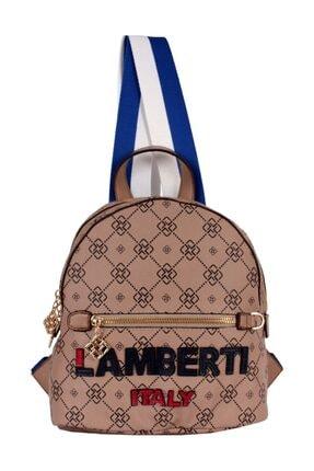 Lamberti Kadın Vizon Suni Deri Sırt Çantası 07147