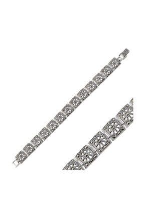 Silverella Gümüş 925 Ayar Markazit Taşlı Bileklik