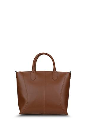 Housebags Taba Kadın Omuz Çantası 166-Taba