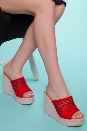 Muggo Kadın Topuklu Terlik Ays70
