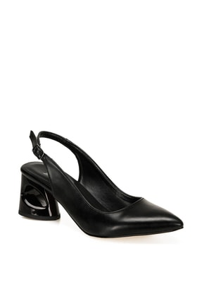 Butigo BARBARA Siyah Kadın Topuklu Ayakkabı