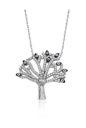 Silverella Gümüş Dilek Ağacı Bayan Kolye
