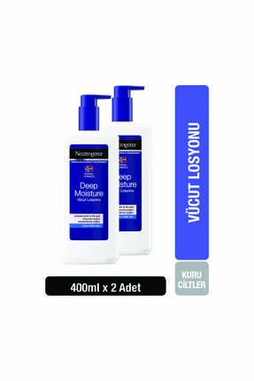 Neutrogena Deep Moisture Vücut Losyonu Parfümlü 400 ml x 2