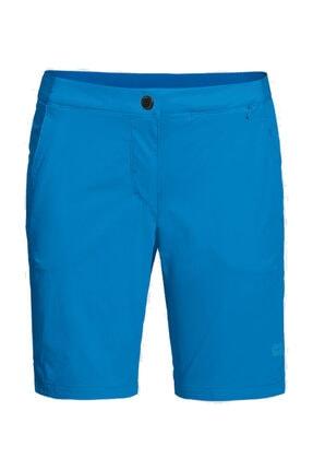 Jack Wolfskin Hilltop Trail Kadın Outdoor Şort Brilliant Blue