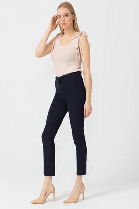 Seçil Klasik Kesim Kumaş Pantolon - 3033 Bej