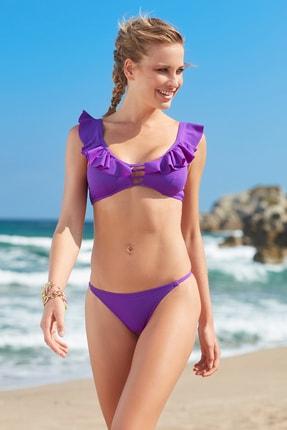 No Gossip Kadın String Bikini  Alt 209204 Mor