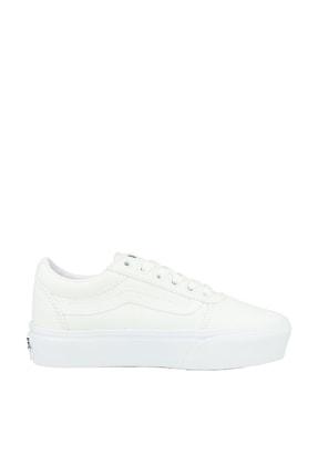 Vans Ward Platform Kadın Beyaz Günlük Ayakkabı VN0A3TLC0RG1