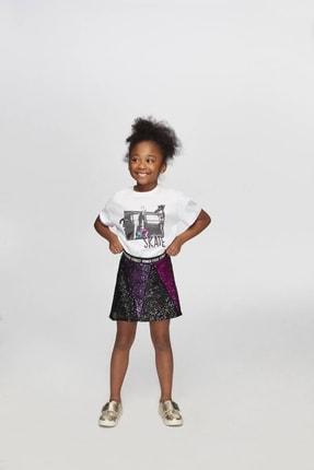 Tyess Kız Çocuk Siyah Etek