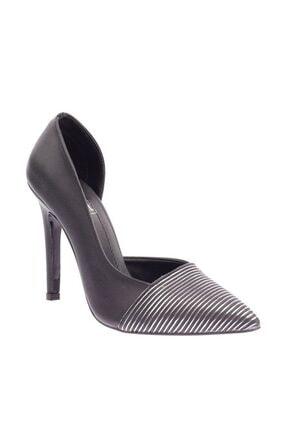 Siyah Kadın Topuklu Ayakkabı 204-604-1147