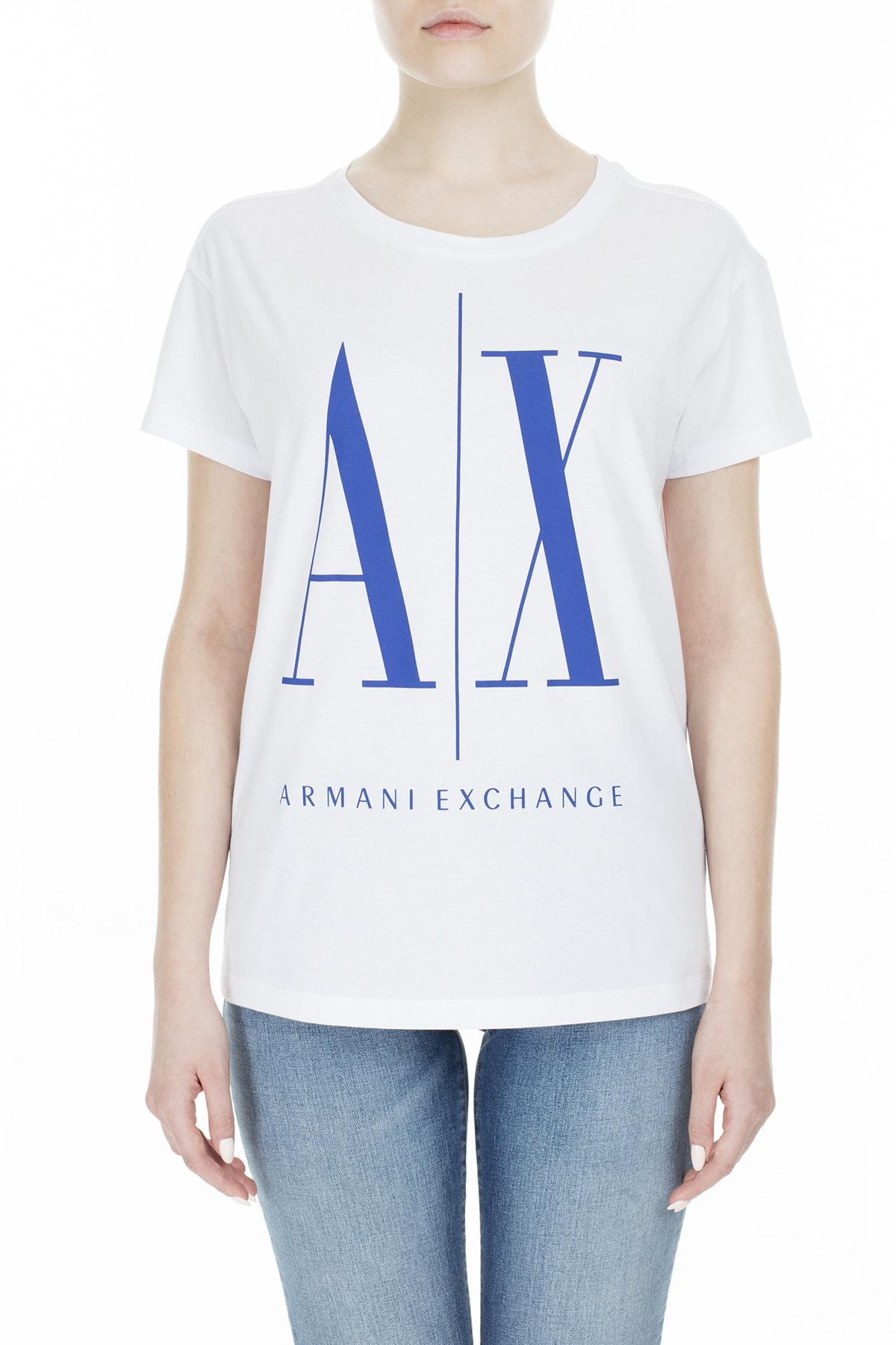 Armani T Shirt Kadın T Shirt 8Nytcx Yjg3Z 7141