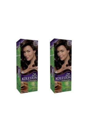 Koleston Naturals Koyu Kahve 3/0 (ikili)