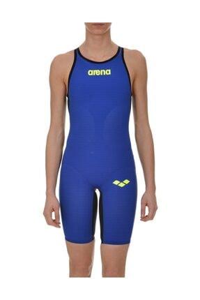 Arena W Carbon Air Fbslob Mavi Kadın Yarış Mayosu