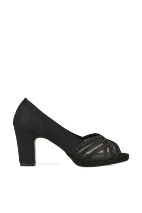 Ziya Punto by Ziya Kadın Topuklu Ayakkabı 101415 670368 2 SIYAH
