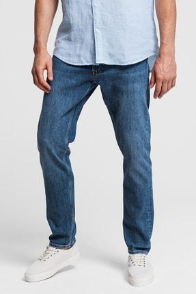 Gant Erkek Mavi Denim Pantolon 1315003