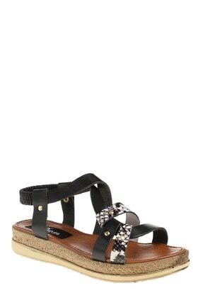 Derigo Kadın Siyah Sandalet 52511