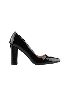 Ayakland Kadın Günlük 8 cm Topuk Rugan Ayakkabı 137029-311