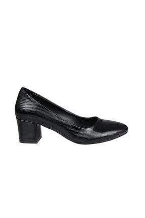 Punto 438115 Siyah Rugan Kadın Stiletto