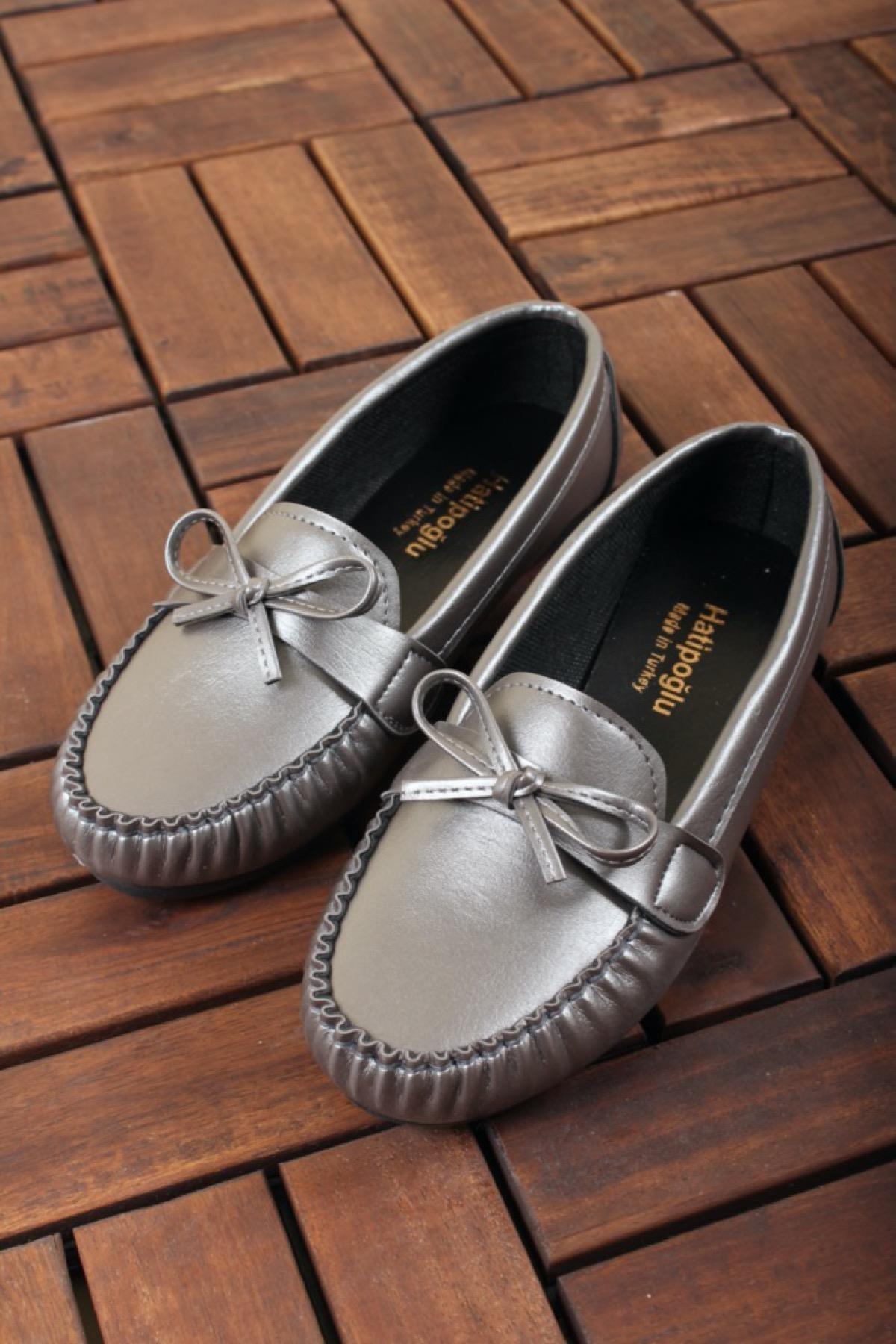 Oksit Giyim Htp 704 Püsküllü Kadın Loafer Oxford