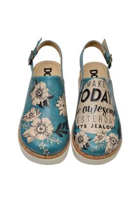 Dogo Kadın Kalın Tabanlı Düz Sandalet