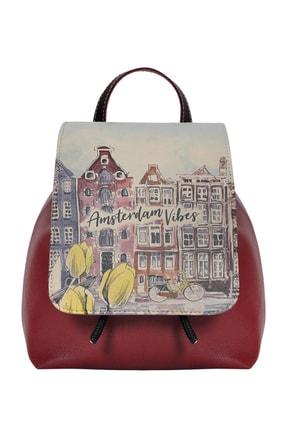 Dogo Amsterdam Vibes Kadın Günlük Sırt Çantası dgb018-hps011