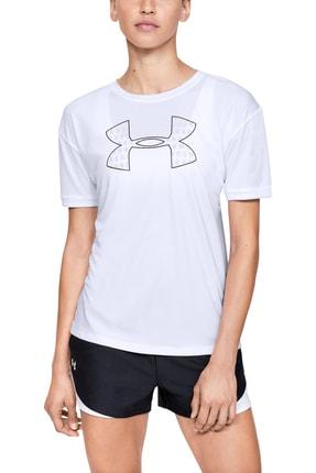 Under Armour Kadın Spor T-Shirt - Performance Graphic Ss - 1351976-100