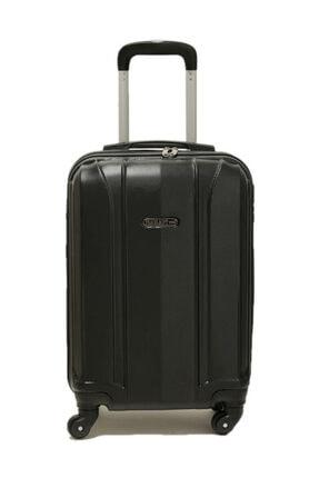 Travel Soft U MKN 6112-K Siyah Unisex Küçük Valiz