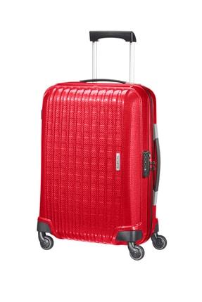 Samsonite Acı Kırmızı Unisex Chronolite - Kabin Boy Dört Tekerlekli Valiz 55 Cm 10940