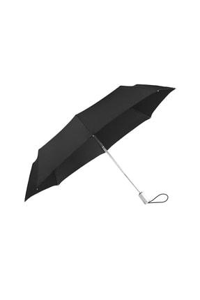 Samsonite Siyah Unisex Alu Drop - Otomatik Katlanabilir Şemsiye 34439