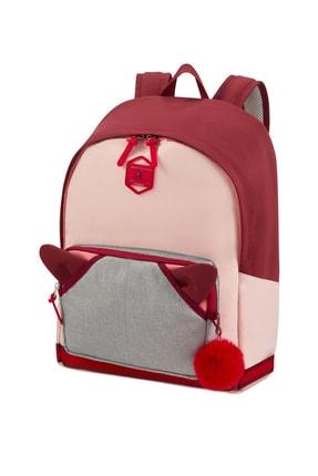 Samsonite Burgundy Pink Mascot Unisex School Spırıt - Sırt Çantası L 49328