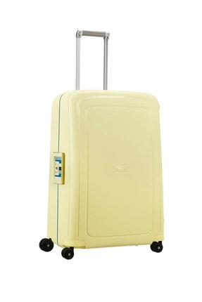 Samsonite Sarı Beyaz Unisex S'Cure - 75 Cm Büyük Boy Valiz 35280