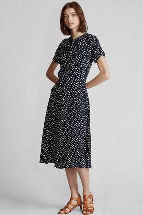 Ralph Lauren Kadın Lacivert Elbise 4484010016820