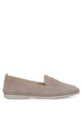 Nine West Darmell Gri Kadın Loafer Ayakkabı