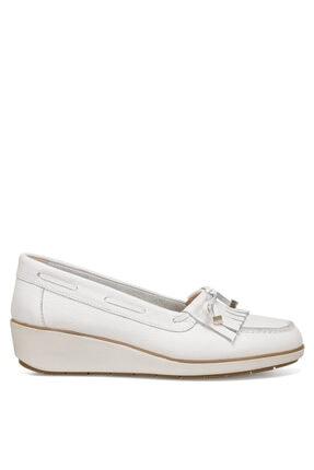 Nine West Agha Beyaz Kadın Sandalet