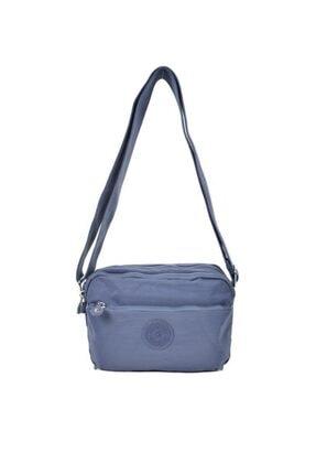 Smart Bags Krinkıl Kumaş New Füme Çapraz Çanta 3029