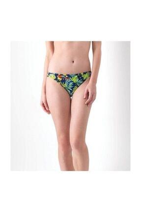 Blackspade Bikini Alt 8424 - Tropikal Papağan Baskılı