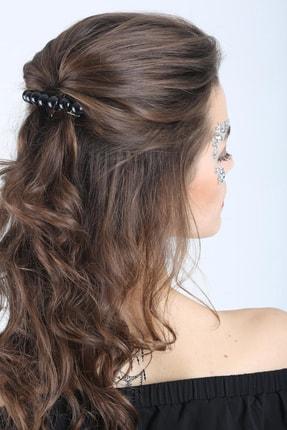 New Look Kadın Black Pearls Toka