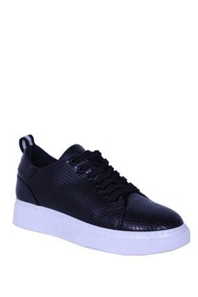 Derigo siyah Petek Kadın Casuel Ayakkabı 392070