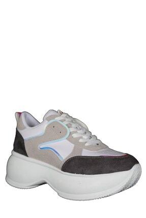 Derigo 222591beyaz Kadın Yüksek Taban Spor Ayakkabı