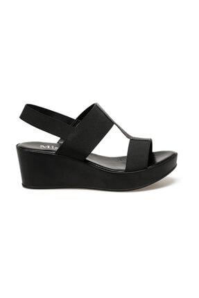 Missf Siyah Kadın Sandalet 000000000100402578