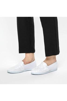 Art Bella CS19001 Beyaz Kadın Slip On Ayakkabı