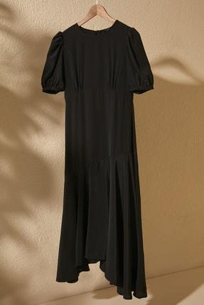 Siyah Asimetrik Elbise TWOSS20EL2141