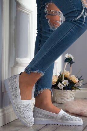 Mammamia Kadın Beyaz Günlük Ayakkabı
