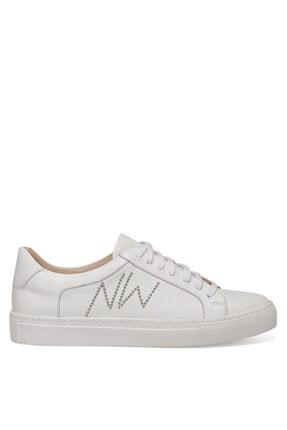 Nine West Pucısca Beyaz Kadın Sneaker Ayakkabı